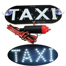 Cab Taxi Light Top Roof Sign Inside Windscreen Lamp Car Auto DC 12V 45 LED White