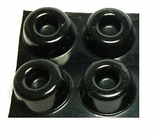 Speaker Stand Isolation Gel Pads for Atacama & Mission Speaker Stands (Black) x4