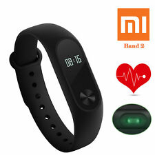 Xiaomi Mi Band 2 Miband OLED Wrist Bluetooth Bracelet Smart Watch Heart Rate