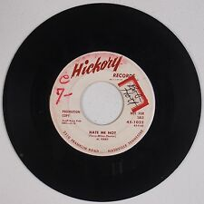 AL TERRY: Hate Me Not USA HICKORY Bopper Country DJ PROMO 45 Hear It