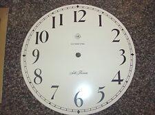 Seth Thomas Metal  Clock Face Plate  Parts or Repair