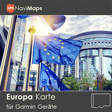 Topo Carte Europe Allemagne Garmin Edge 800 810 1000 touring plus Etrex 20 30