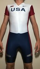 RARE Team USA Mens Track and Field Singlet Olympic Running Suit Flag Nike