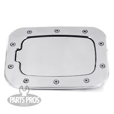 NEW Polished Non-Locking Gas Fuel Door / FOR FORD F250 F350 SUPERDUTY 2011-2014