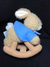 Eden Peter Rabbit Rocking Plush Soft Toy Stuffed Beatrix Potter 8""