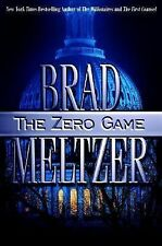 The Zero Game by Brad Meltzer (2004, Hardcover) Author Personalized and Signed