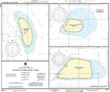 NOAA Chart Islands in the Pacific Ocean-Jarvis, Bake and Howland Islands