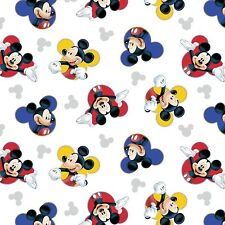 """1 yard  Disney Mickey """"The One & Only""""  Fabric"""
