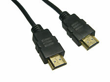 15 FT HDMI CABLE V1.4 1080P 4K FOR BLURAY 3D DVD PS3 XBOX, 24k Gold Plated