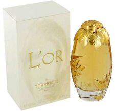 L'or De Torrente Women 3.4oz 100ml Eau De Parfum NEW, SEALED, Hard to Get