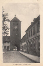 HAGUENAU 13 porte de bitche écrite 1931