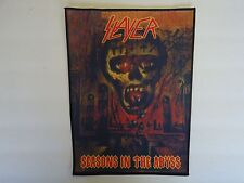 SLAYER SEASONS IN THE ABYSS SUBLIMATED BACK PATCH