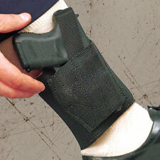 DeSantis Apache Ankle Holster – Right Hand, Black – Small Revolvers