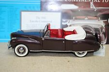 1/24 Franklin Mint 1941 Lincoln Continental Convertible
