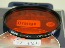 Original Cokin Filter Foto Photo Lens Orange 58mm 58 E58 France (5)