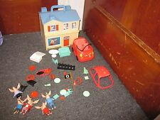 Nick Jr. Olivia the Pig's House with family Car Accessories