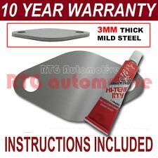 PEUGEOT 406 607 2.2 HDI diesel egr plaque blanc 3 mm Acier ND sealant