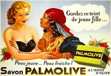 Art Poster Palmolive Deco French Ad  Soap  Print