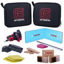 NEW Grayne Ski and Snowboard Tuning Kit W/ Edge Sharpener, Wax Scraper, P-Tex+++