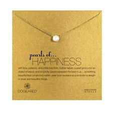"NEW DOGEARED Gold ""PEARLS OF HAPPINESS"" Pearl Necklace -SALE"