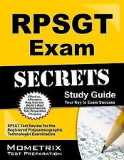 RPSGT Exam Secrets Study Guide : RPSGT Test Review for the Registered...
