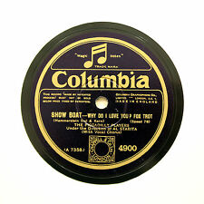 "THE PICCADILLY PLAYERS (Starita) ""Why Do I Love You?"" COLUMBIA 4900 [78 RPM]"