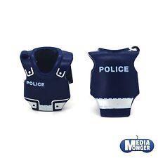 PLAYMOBIL polizia ® 2 x Protezione Gilet | Carro armato petto | Gilet di sicurezza con catarifrangenti