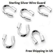"""Sterling Silver Wire Guard ( Hole Size .021"""" ) Pack Of 100 / Made In USA"""