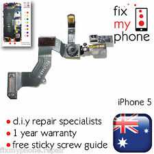 iPhone 5 Front Camera Proximity Sensor Top Mic Flex Cable Replacement