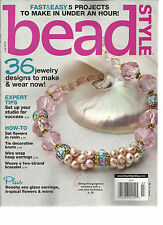 BEAD STYLE,   JULY, 2015  (  FAST & EASY 5 PROJECTS TO MAKE IN UNDER AN HOUR )