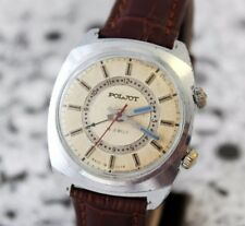 Russian Vintage POLJOT SIGNAL Mechanikal ALARM Soviet Era Men's Watch