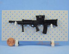 1:6 Scale Action Figure SA80 L85 L85A2 British Rifle MACHINE GUN MODEL Black G18
