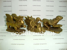 FENG SHUI - LARGE BRASS 3 HARMONY ANIMALS (PEACE & HARMONY)