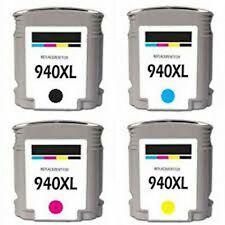 Remanufactured Ink Cartridge HP 940XL HP 941XL C4906AN C4907AN C4908AN w/chip