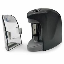 Westcott Automatic Pencil Sharpener with Premium Stainless Steel Blade - Black