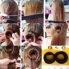 Hot Fashion Hair Styling Donut Former Foam French Twist Magic DIY Tool Bun Maker