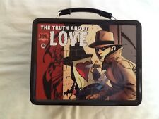 """P!NK Alecia Moore Metal Lunch Box """"the truth about love"""" New"""