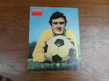 Photo-poster FOOTBALL vintage : DOMINIQUE DROPSY RC STRASBOURG 1973