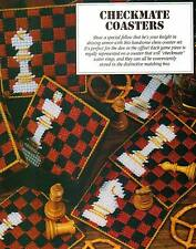 CHECKMATE COASTERS CHESS GAME PLASTIC CANVAS PATTERN INSTRUCTIONS