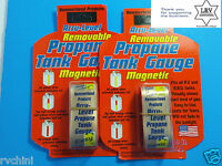 Accu-Level Removable / Magnetic Propane Tank Gauge - Fits All RV / BBQ Tanks New