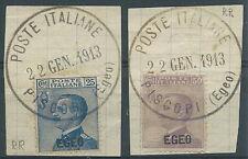 1912 EGEO USATO EFFIGIE - RR1723