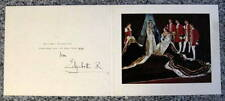 Elizabeth, Queen Mother - Hand Signed Christmas Card  - 1954