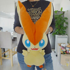 "Geniune Takara Tomy Pokemon Plush Stuffed Doll 19"" Big Size Victini New"