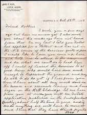 1898 Deadwood Dakota - SUPERB Black Hills Mining Letter - Survivor Mine -  Stock