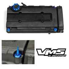 VMS BLUE ENGINE DRESS UP KIT B16 B18 VALVE COVER INSERT WASHER SEAL SPIKE NUT