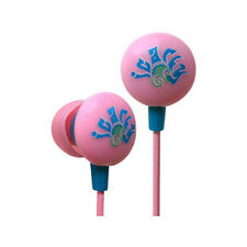 iHip Nickelodeon iCarly Mini Printed Ear Buds Pink/Blue iphone ipod 3.5 mm
