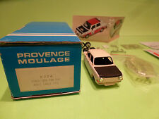PROVENCE MOULAGE KIT K374 SIMCA 1000 PAM PAM MONTE CARLO 1973 - 1:43 - VG IN BOX