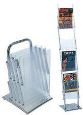 A4 Portable Brochure Stand Brochure Holder Catalogue Flyer Holders