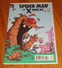 Spider-Man & The X-Men #1 Skottie Young Baby Variant Edition 1st Print
