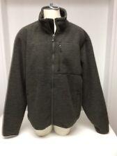 32 Degrees Heat Men's Sherpa Lined Fleece Jacket ~Iris Leaf-XL